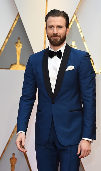 Chris Evans at 2017 Oscars