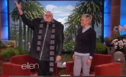 Steve Carell Appears on Ellen as Gru, Dances Through Crowd