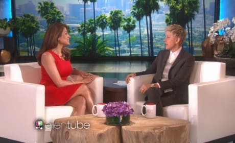Eva Mendes on Ellen: All About Baby!