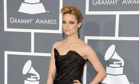 Dianna Agron at the Grammys