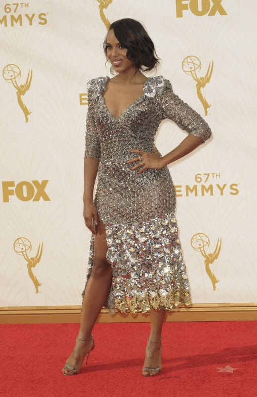 Kerry washington at the 2015 emmys