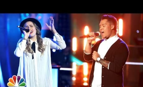 Lina Gaudenzi vs. Preston Pohl - The Voice Knockout