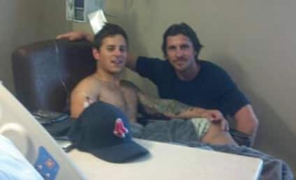 Christian Bale Visits Victims of Aurora Tragedy