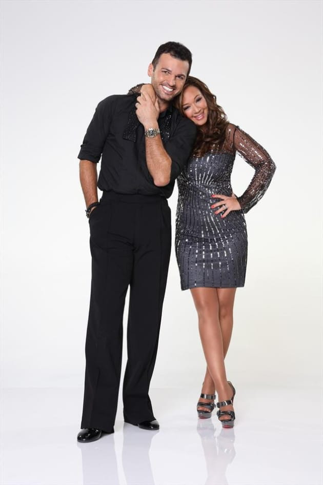 Leah Remini on Dancing With the Stars