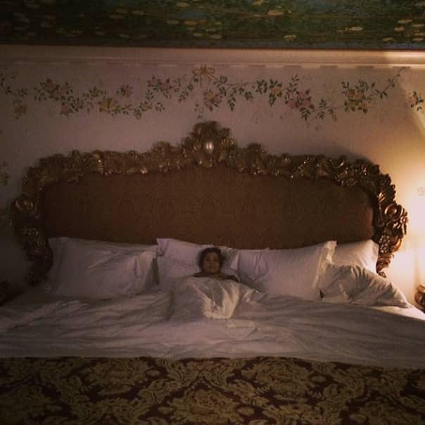 Kim Kardashian in Bed