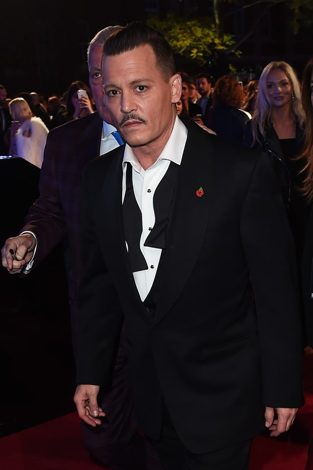 Johnny Depp Premiere Photo