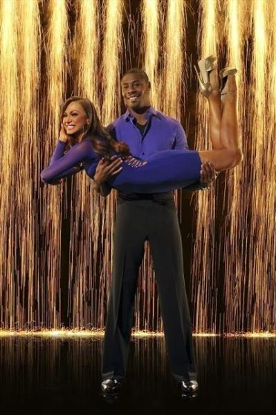 Jacoby Jones and Karina Smirnoff