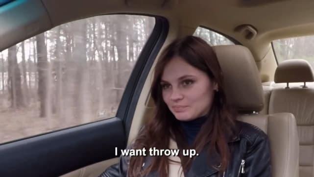 Julia trubkina i want throw up