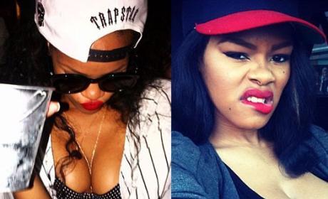 Teyana Taylor-Rihanna Twitter Feud