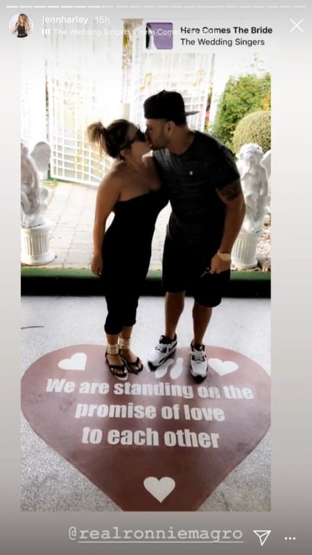Ronnie ortiz magro and jen harley kiss