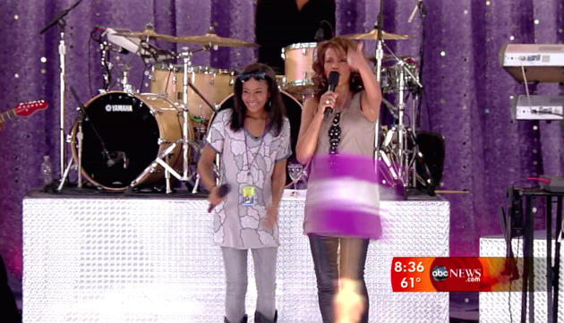 Bobbi Kristina Brown and Whitney