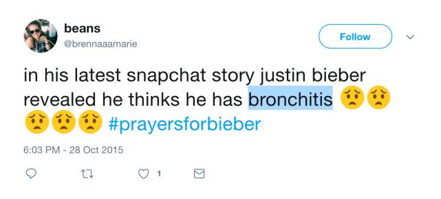 Not bronchitis
