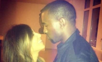 """Kim Kardashian Spends """"BF Time"""" with Kanye West"""