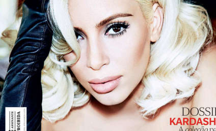 Kim Kardashian Makes Like Marilyn Monroe: See the Pics!