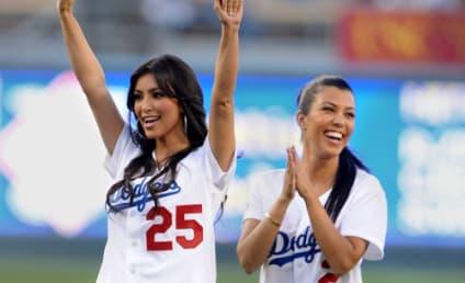 Batter Up! Celebrities Bleed Dodger Blue
