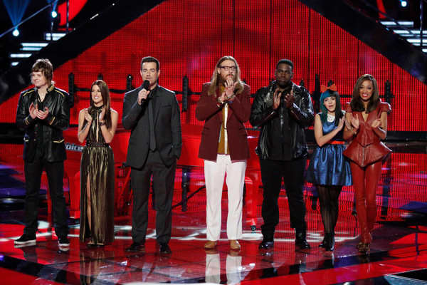 The Voice Top Six