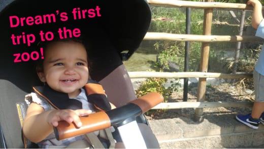 Dream Kardashian, First Zoo Trip