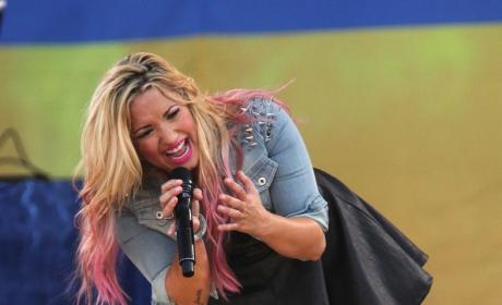 Demi Lovato Hair Photo