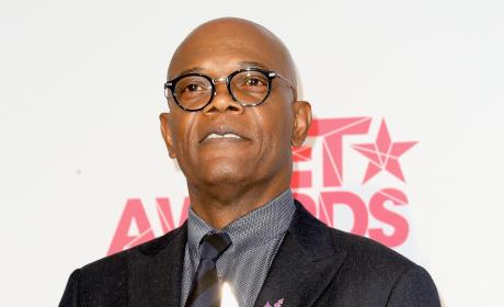 Samuel L. Jackson at the BET Awards