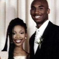 Kobe Bryant, Brandy Prom Photo