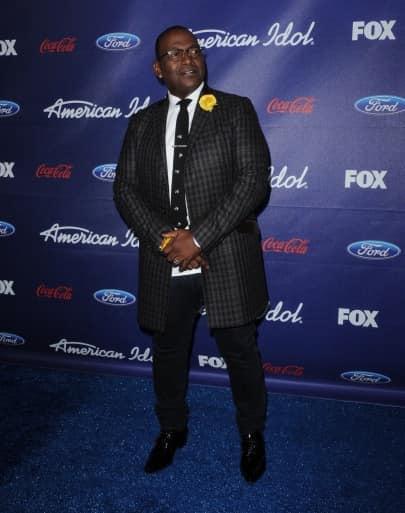 Randy Jackson Blue Carpet Pic