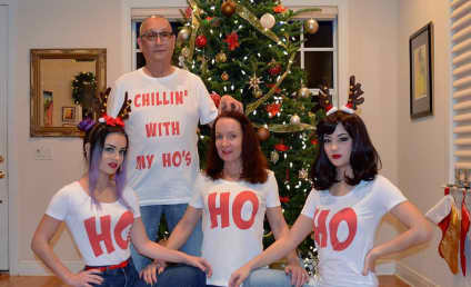 """Florida Man and His """"Ho's"""" Stir Up Christmas Card Controversy"""