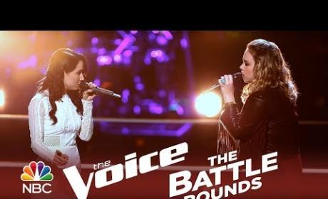 Bree Fondacaro vs. Taylor Brashears (The Voice Battle Round)