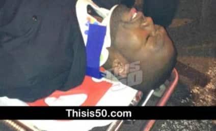 50 Cent Hospitalized After Serious Car Crash