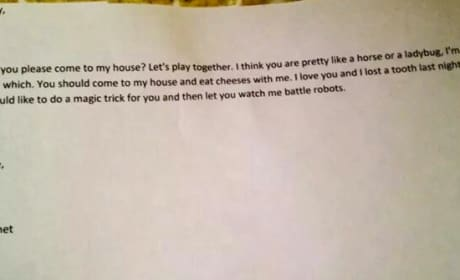 Little Kid Love Letter