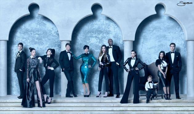 2011 Kardashian Christmas Card