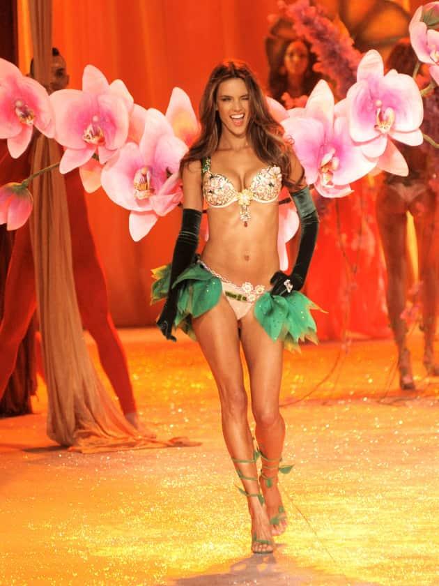 Alessandra Ambrosio in Victoria's Secret
