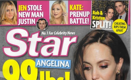 Angelina Jolie Wasting Away!