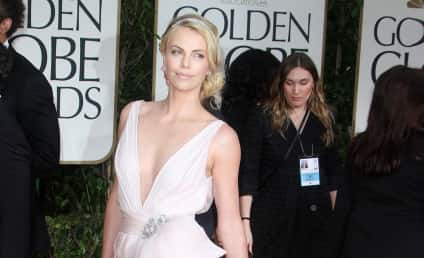 Golden Globes Fashion Face-Off: Charlize Theron vs. Elle Macpherson