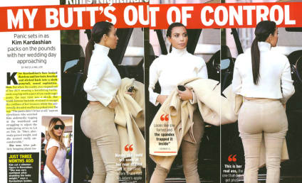 Kim Kardashian Butt Out of Control; Star Unsure How to Handle Badonkage