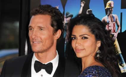 Matthew McConaughey and Camila Alves: Expecting Again!