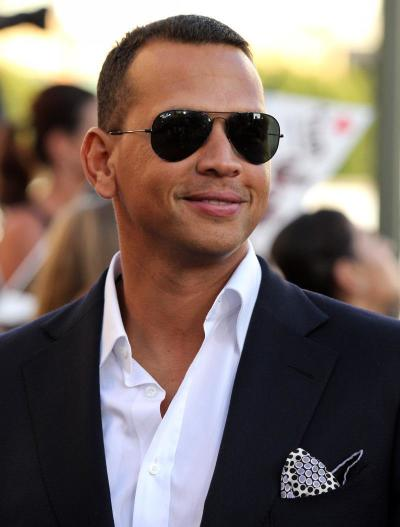 ARod on the Red Carpet