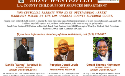 """Danny Tartabull Targeted as L.A.'s """"Most Wanted"""" Deadbeat Dad"""