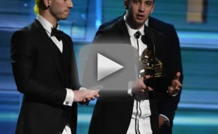 Twenty One Pilots Win Grammy, Take Off Pants