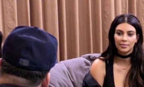 Kim Listens to Rob