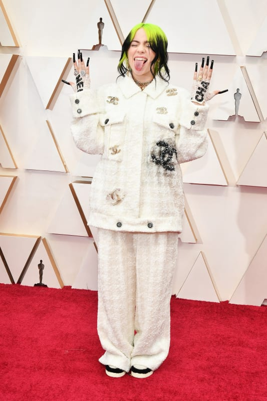 Billie eilish at 2020 oscars