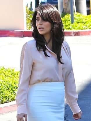 Kim Kardashian's Baby Bump Pic