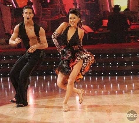 Mark Ballas and Kristi Yamaguchi