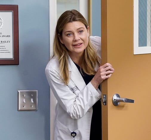 Ellen Pompeo in the Hospital