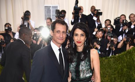 Huma Abedin and Anthony Weiner Photo