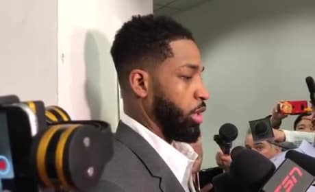 Tristan Thompson Curses Off Reporter: Watch Him Lose It!