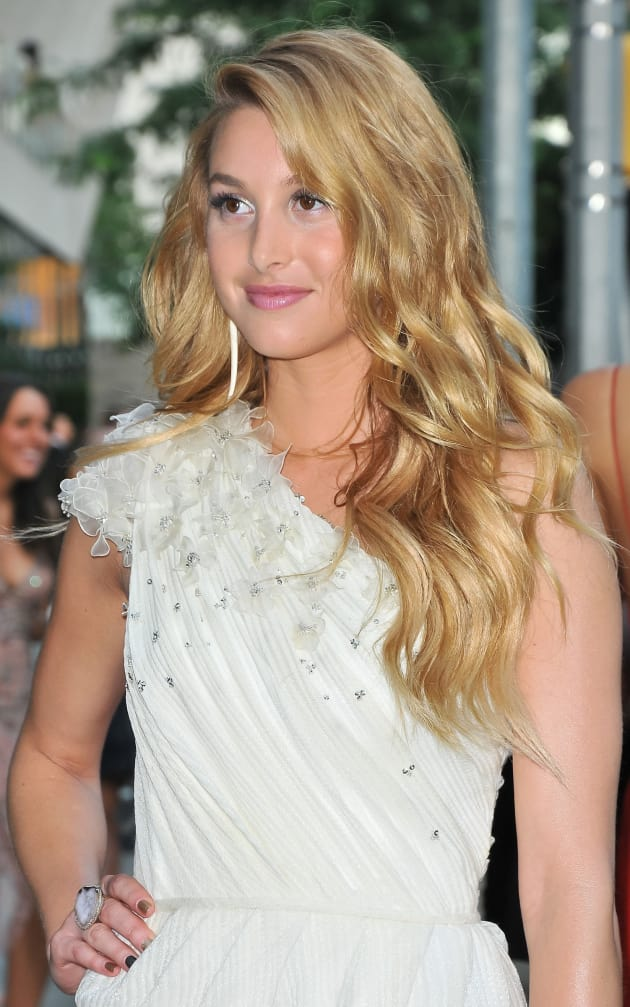 Whitney Port, Blond Hair