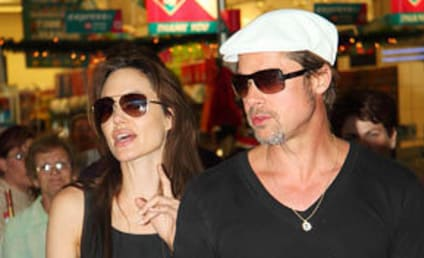 Spotted: Brangelina in Namibia!