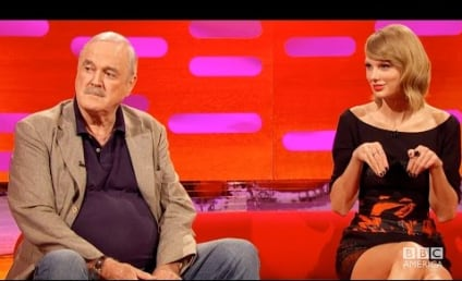 Taylor Swift Reacts to John Cleese Cat Diss: Excuse Me?!?