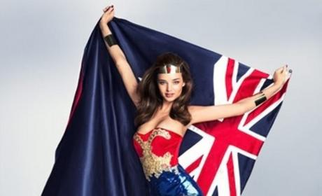 Miranda Kerr, Wonder Woman
