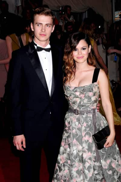 Hayden Christensen and Rachel Bilson